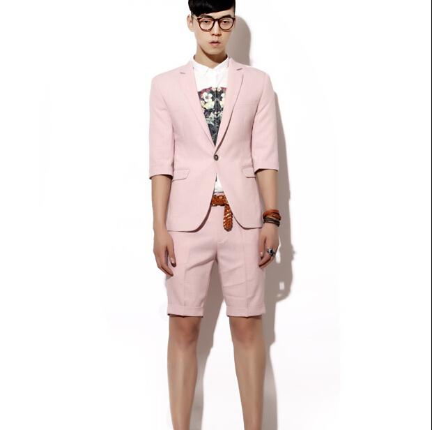 hohe qualit t gro handel herren anzug rosa aus china. Black Bedroom Furniture Sets. Home Design Ideas