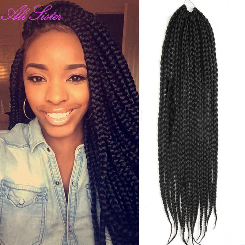 Milky Way Crochet Box Braids : 12-box-braids-hair-crochet-braid-hair-box-braid-extensions-soft ...