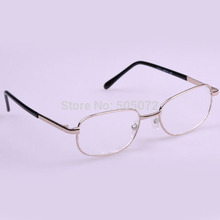 A6 Free shipping!New Fashion High-quality Men Women metal frame reading glasses 1.00 to 3.50 IB058 P
