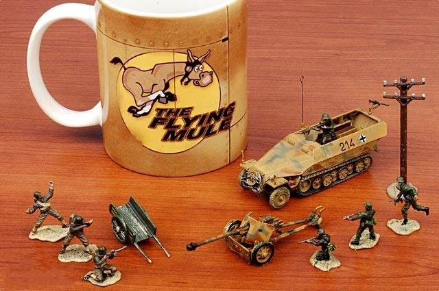 Finished product model /Germany  Sd.Kfz251 armored transport / car model