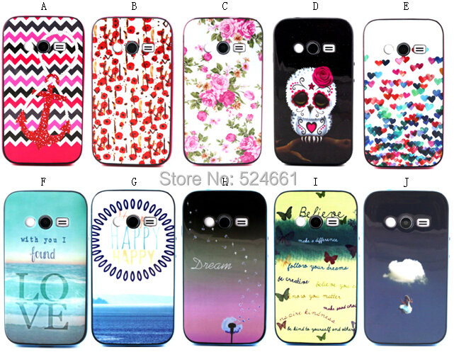 Cartoon Owl Hybrid 2 1 PC TPU Back Hard Case Cover Samsung Galaxy Ace 4 NXT G313h Protective Mobile Phone bags cases - Shenzhen Wei Jia Xing Electronic Co., Ltd. store