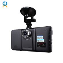 7 Car GPS Navigation Android 4 4 2 1080P Car DVR Camera Recorder Radar Detector Vehicle