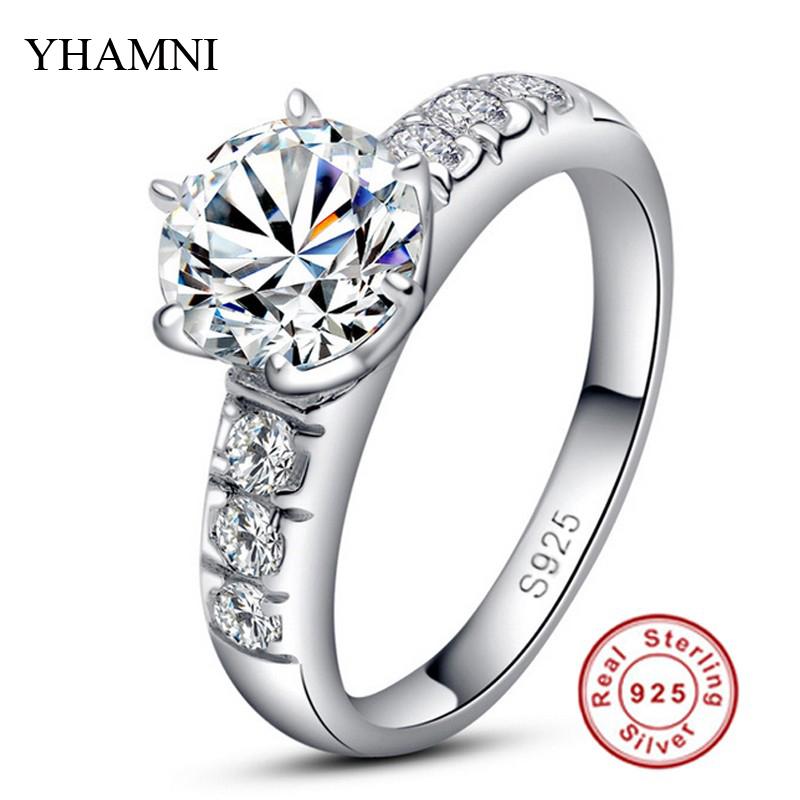 line Get Cheap 1 Carat Diamond Platinum Ring Aliexpress