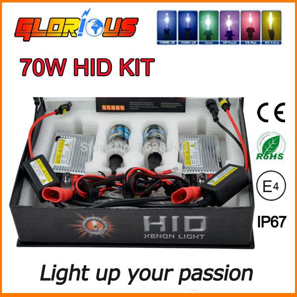 12V/24V 70W digital HID xenon Kit,xenon hid H1 H3 H4-1 H7 H8 H9 H10 H11 9004-1 9005 9006 9007-1,xenon h1 24v(China (Mainland))
