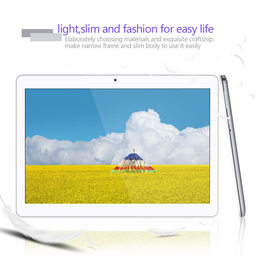 Yuntab 10.1″ K107 Tablet PC Quad-Core 3g Phablet with Dual Camera and Dual Sim Card 4500mAh battery Bluetooth 4.0