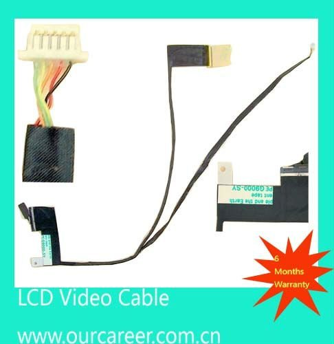 Sell vedio cable for G62 G62T compaq CQ62 laptop lcd led cable 595196-001 350401P00-GEK-G New