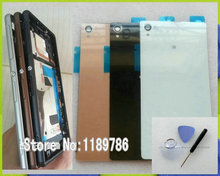 Buy Full Housing Faceplate Middle Frame Plate Bezel + Battery Back Cover Glass Sony Xperia Z3 D6603 D6616 D6643 D6653 D6633 for $15.90 in AliExpress store