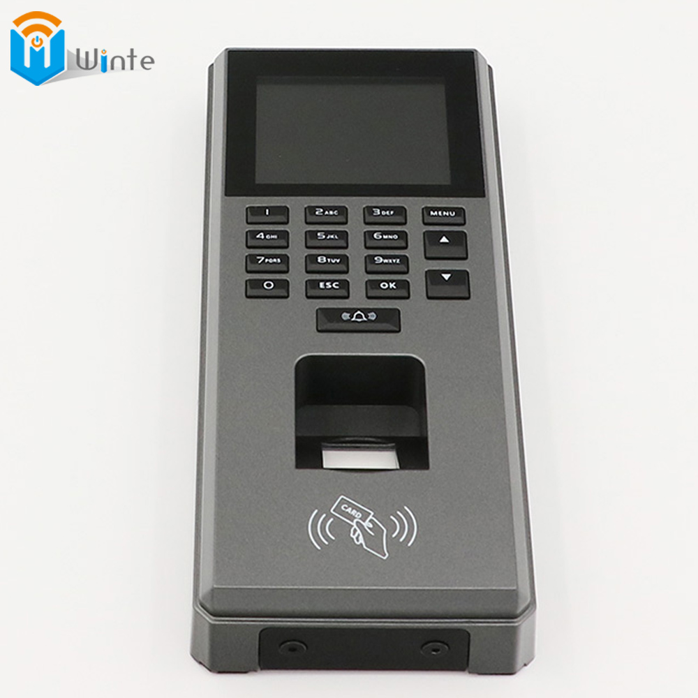 Fingerprint RFID Access Control Machine big Size Sreen Digital RFID Reader Scanner Sensor For Door Lock Time Attendance DouWin(China (Mainland))