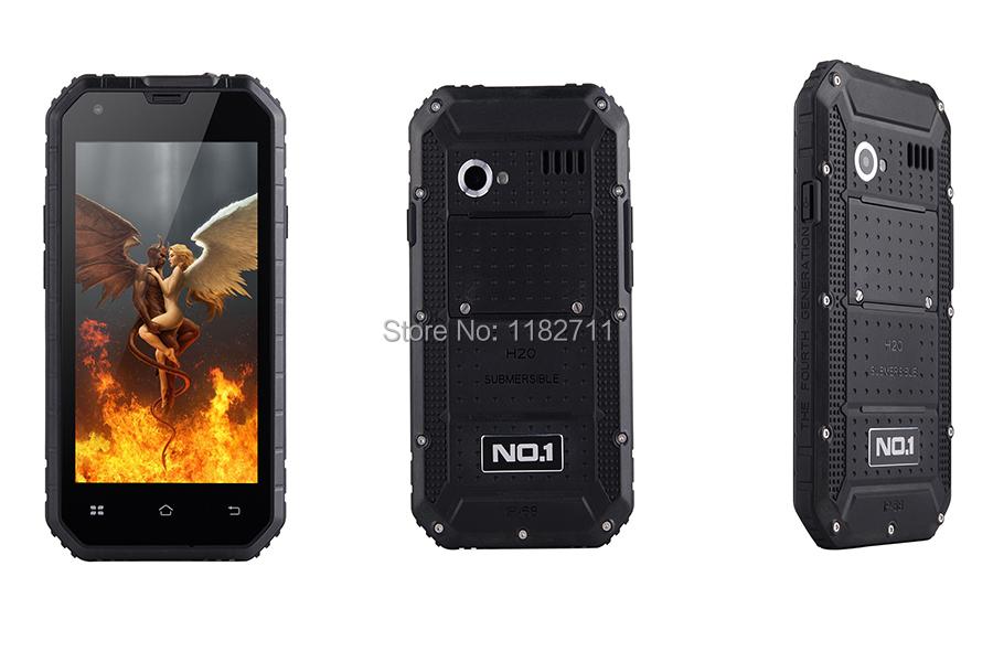 "Original NO.1 M2 4.5"" IP68 Waterproof Rugged MTK6582 Quad Core Android 5.0 1GB RAM 8GB ROM 13MP Camera WCDMA mobile phone(China (Mainland))"