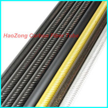 4 pcs 9 MM OD x 7MM ID Carbon Fiber Tube 3k 500MM Long with 100% full carbon, (Roll Wrapped) Quadcopter Hexacopter Model 9*7