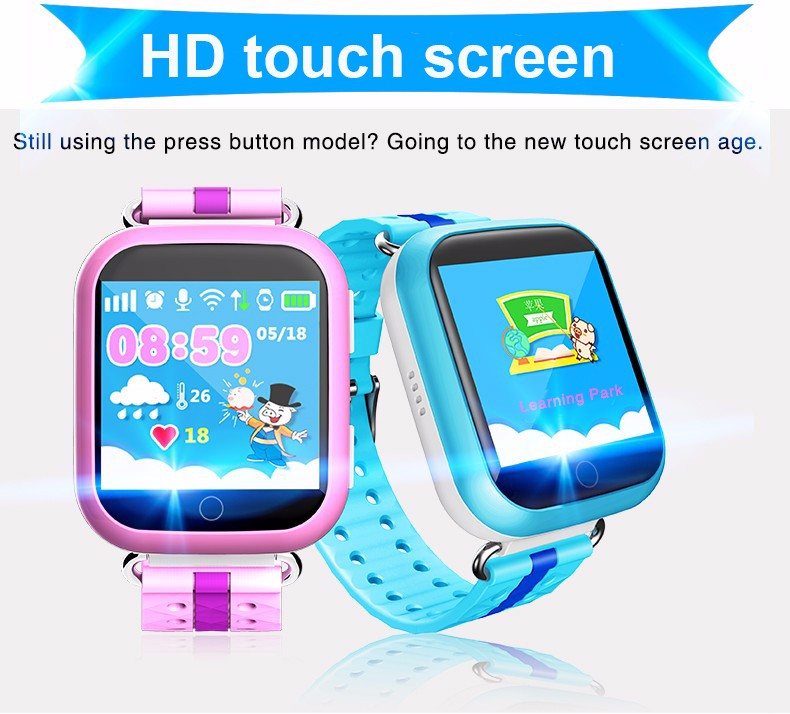 Children Gps Tracker Watch Location Waterproof Touch Screen Ios Android Baby Smart Watches Monitoring Camera Kids Wristwatch E7k Sturdy Construction Children's Watches