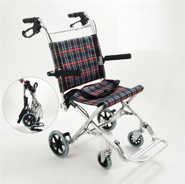 New folding foldable manual wheelchair for elderly people for Motorized cart for seniors