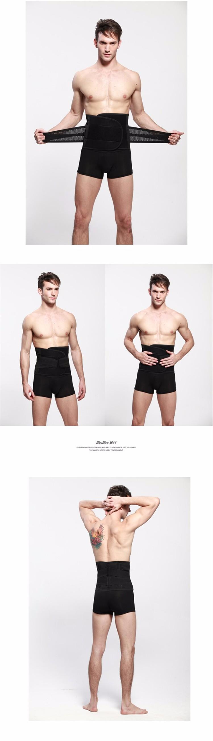 Похудения пояса мужчины корсет профилировщик тела мужской боди мужские талии cдюймer обучения корсеты талия тренер поддержки