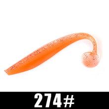 Рыбий король Рыболовная Приманка Мягкая приманка Shad силиконовая приманка 90 мм 120 мм 160 мм Т-хвост воблеры Swimbait запах Artificial Tant искусственная п...(China)