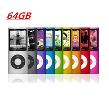 Wholesale 9 Color For choice mp3 player fm 1.8' 4th Screen mp3 player Music playing time 10Hours mini radio fm has 64GB memory(China (Mainland))