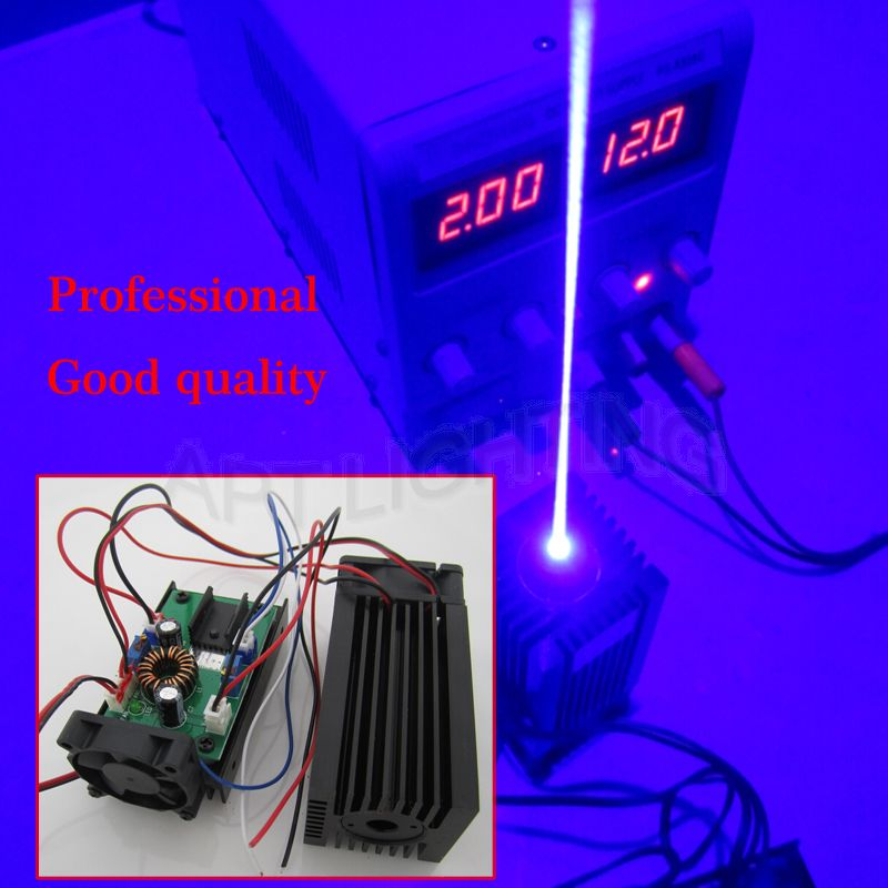 REAL NEW 3500mw 3 5w 445 blue Stage Light RGB Laser Module High Power White Laser