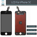 10pcs lot No dead pixel AAA LCD for iPhone 5C LCD display touch screen digitizer frame
