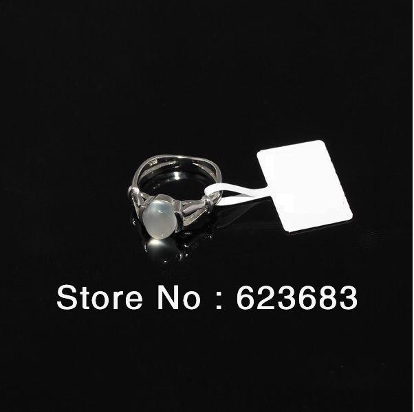 [Free shipping]Wholesale 60pcs/lot platinum plated Moonstone ring VAMPIRE TWILIGHT Bella ring,Size 6 7 8 9 10(China (Mainland))