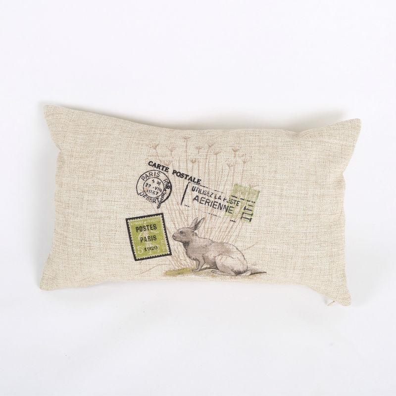 Free Shipping Linen Rectangle Decorative Throw Pillows ...