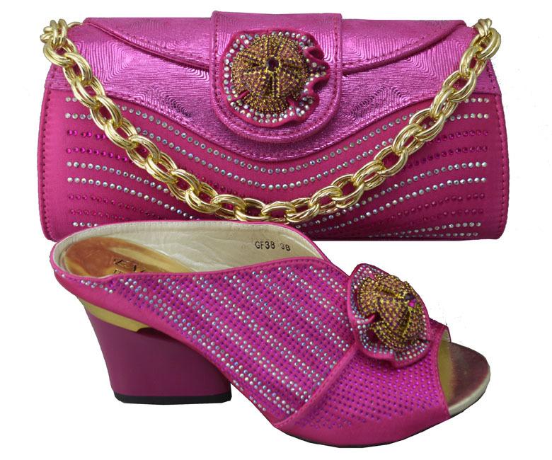 Italian Shoe And Bag Set Size