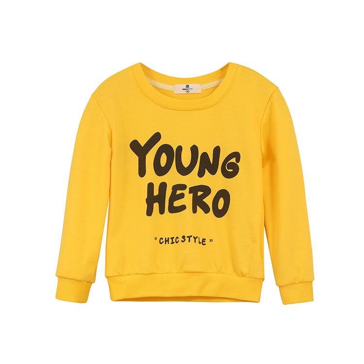 Гаджет  Swanlike Yiyi 2015 New Winter Girl Young Hero Letter Stamp Yellow Sweater Children