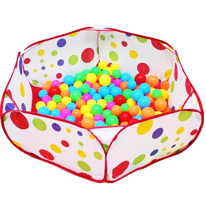 New 100cm Baby Kiddie Fabric Play Game Pit Ball Pool Children Playpens Playhouse Play Tent Toy tienda corralito teatro(China (Mainland))