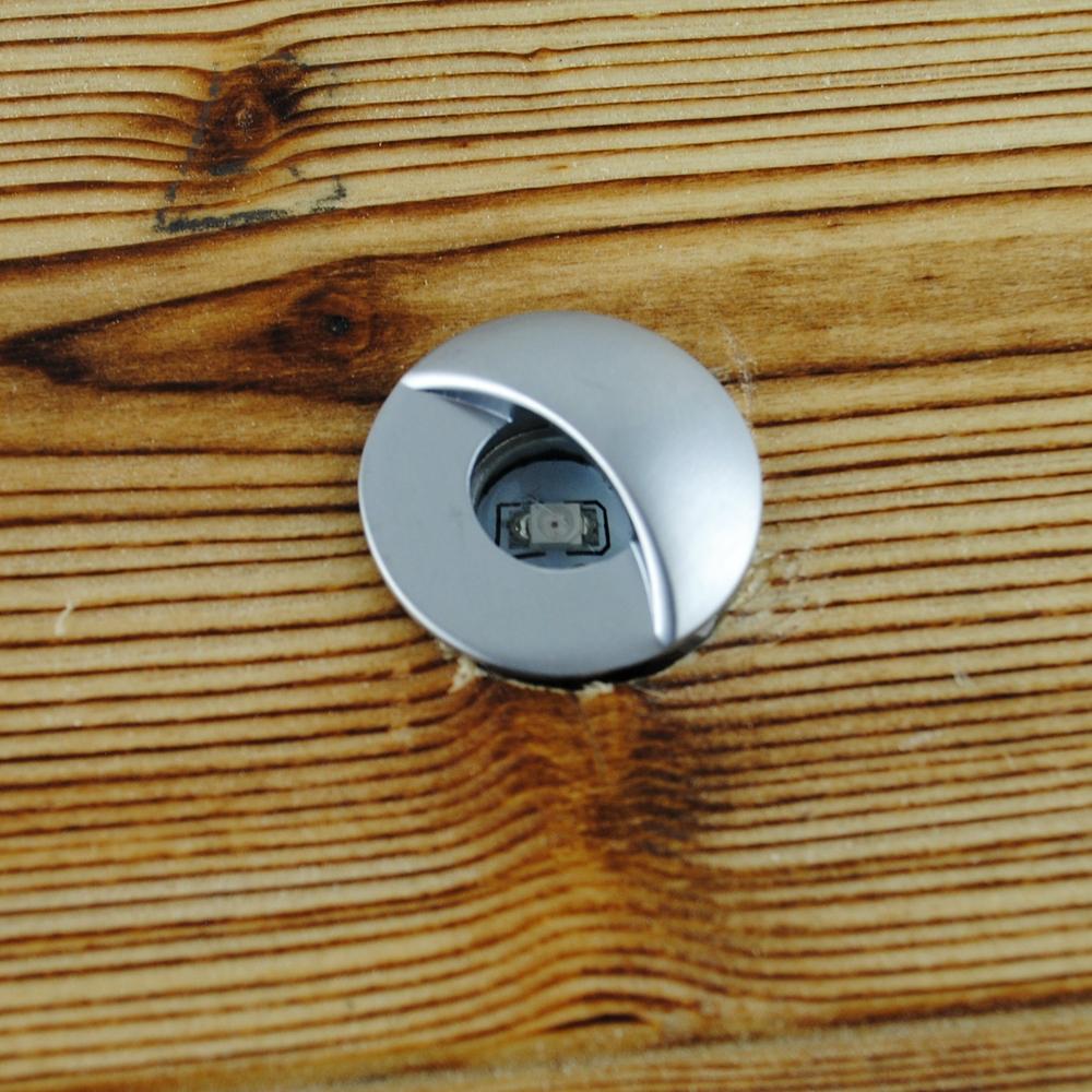 20pcs lot 12v led deck lights floor lamp recessed step wall light ip65 inground underground. Black Bedroom Furniture Sets. Home Design Ideas
