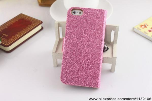 New Luxury Bling Wallet Shiny Leather Magnetic Flip Cover Case For iPhone 4 iPhone 4S iPhone4 Phone Cases Cover H0016