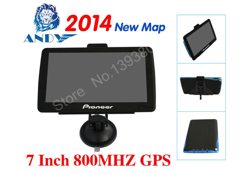 "New 7 ""GPS navigation FM mp3 / mp4 ddr128M North America European Russia CE6.0 4 gb car navigation vehicle navigation(China (Mainland))"