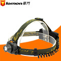 Lomon Waterproof 5W LED Headlamp Headlight Outdoor Camping Cycling Head Light Lamp Torch 18650 Rechargeable Battery