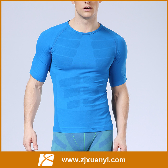 New Products 2016 Factory Supply Seamless Sports Tshirts