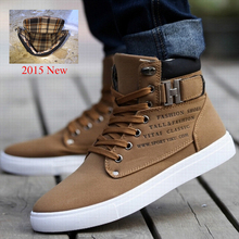 1Pair Spring Autumn Shoes Warm Men Shoes Tenis Masculino Male Men's Comfortable Casual Shoes Canvas Botas 871485(China (Mainland))