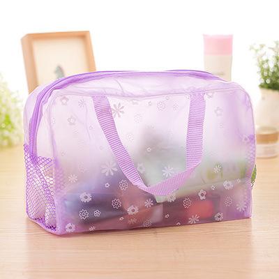 2016 Fashion Waterproof PVC Makeup Cosmetics Bag Clear Transparent Travel Storage Box Girls Women Make up Pouch Vanity Case Bag<br><br>Aliexpress