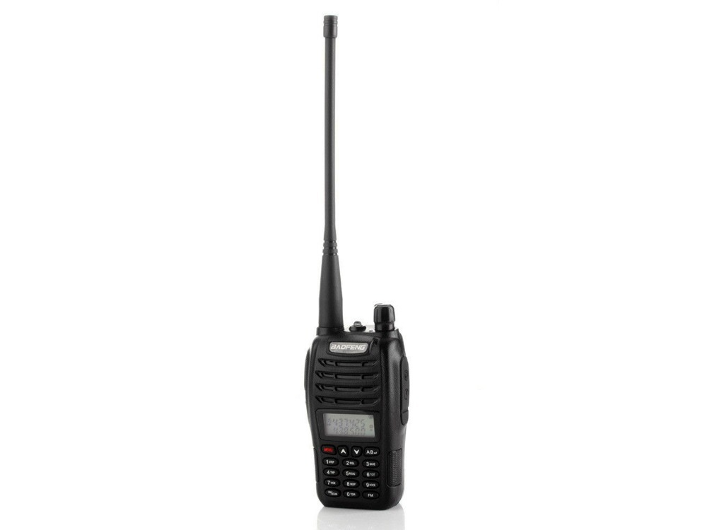 Walkie Talkie RICETRASMITTENTE BAOFENG B6 UHF FM 136/174 400/470 UV-B6 walkie talkie baofeng 3r 2 136 174 400 470 usb uv 3r