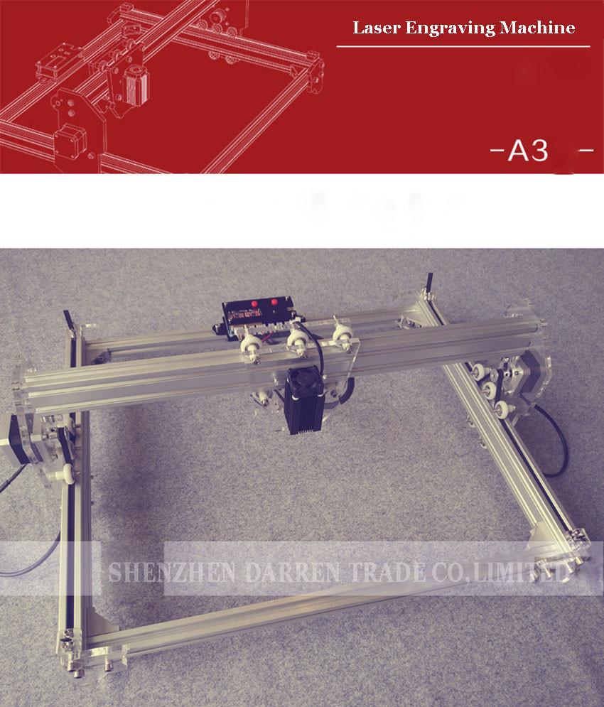 Купить Бесплатные DHL 4 Шт. 1600 МВТ DIY лазерный гравировальный станок, 1.6 Вт лазерной гравировки машина, diy лазерной гравировки машина