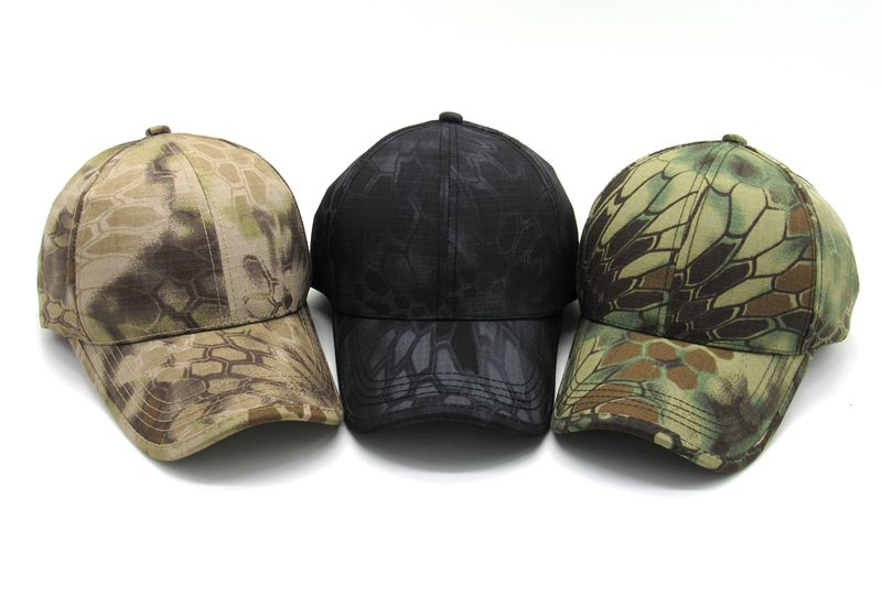 2016 fashion brand casual men Baseball Caps cotton luxury camouflage hats sun caps Print caps for men army green black khaki(China (Mainland))
