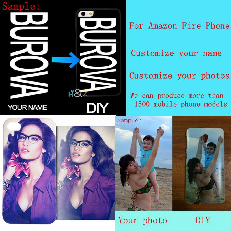 DIY custom design own name Customize printing your photo picture phone case cover for Amazon Fire Phone(China (Mainland))