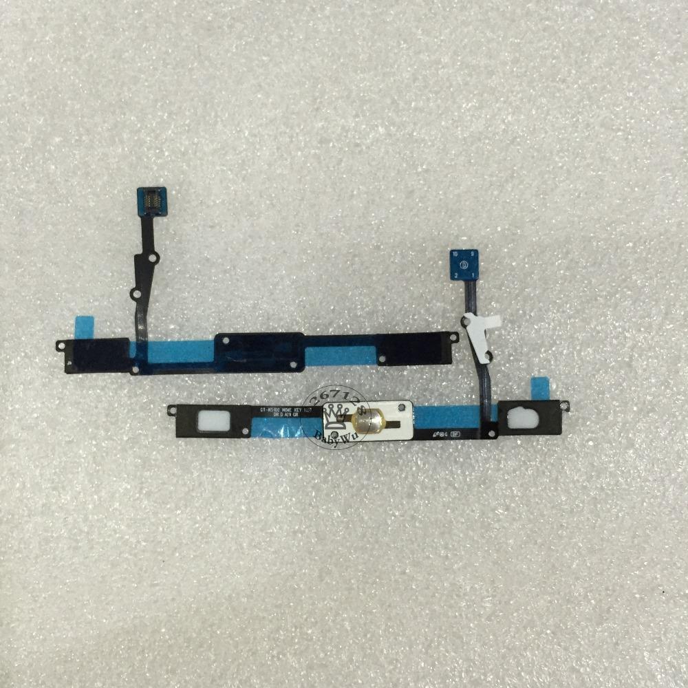 10PCS Home Button Keypad Flex Sensor Flex Cable For Samsung Galaxy Note N5100 N5110 GT-N5100 GT-5110 Repair Part