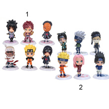 Buy Naruto Q Edition Anime Action Figures Collection PVC Naruto Figures Model toy Set Action Figure Toys 6pcs/set for $8.95 in AliExpress store