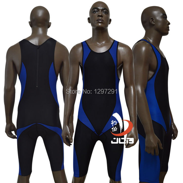 JOB Ironman triathlon swimsuit mens one piece swimwear running cycling wear sportswear mens racing swimsuits athletic swimwear(China (Mainland))