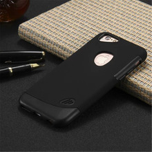Ultra Thin Shockproof Rubber PC+TPU Hybrid Case Cover For iPhone6 6S Plus Hard Back Tough Cover Cases For Iphone6 6S Plus + Logo