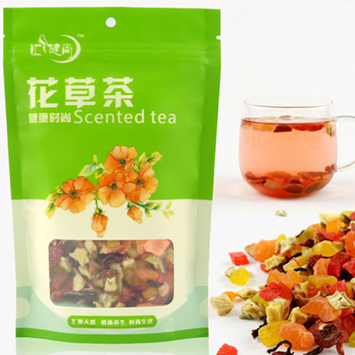 Top Grade Dried Fruit Tea Chinese Delay Senility Vitamina Beauty Fruite Powder Loose Bag Blend Tea Improve Immunity Free Ship(China (Mainland))