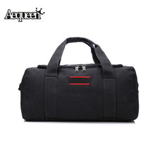 Buy 2017 Fashion Men Travel Bags Casual Large Capacity Duffle Bags Canvas Big Luggage Portable Single Shoulder Handbag Folding Totes for $23.66 in AliExpress store