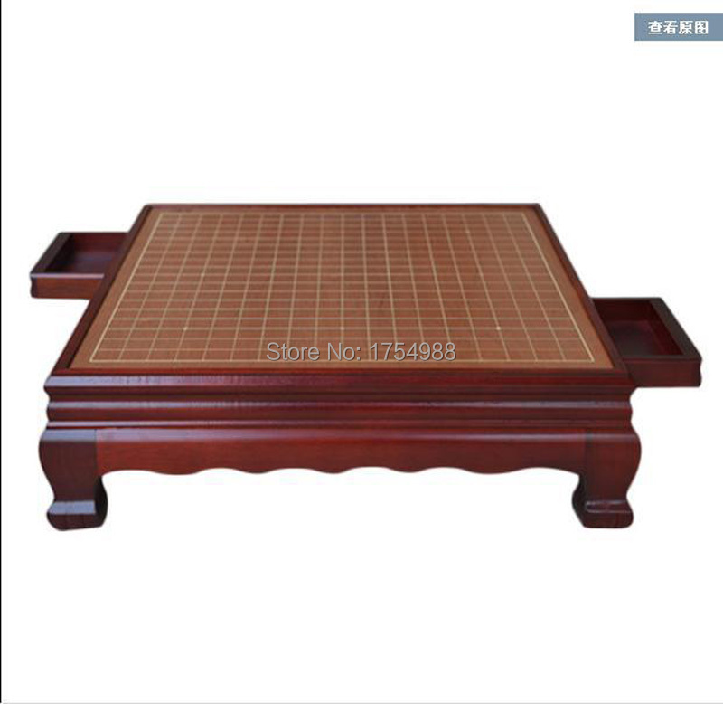 rosewood pier Chinese chess chess weiqi table made of Antique wood weiqi board goban chess table with leg(China (Mainland))