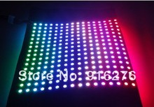 16*16 pixels INK1002 rgb led digital flexible panel lights (INK1003 ICcontrolled),size:17cm*17cm,DC5V input(China (Mainland))