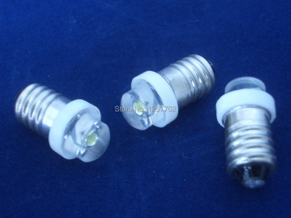 0.5W E10 LED flashlight bulb white led light bulb(China (Mainland))