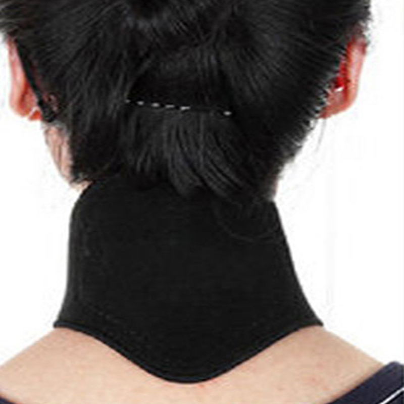 3PCS Therapy Neck Massager Cervical Vertebra Protection Spontaneous Heating Belt Body Massage(China (Mainland))