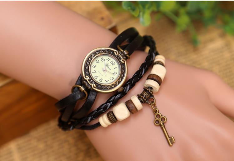 women leather watches, hot selling new trend chic! unique long key pendant strap - Gnomon watch Industry Co., Ltd store