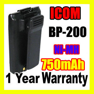 750mAh Ni-Mh ICOM BP-200 BP-200H BP-200L BP-200M BATTERY for ICOM IC-A23 IC-A5 IC-T8 IC-T8A IC-T8E IC-T8H IC-T8HP IC-T81 + CLIP(China (Mainland))