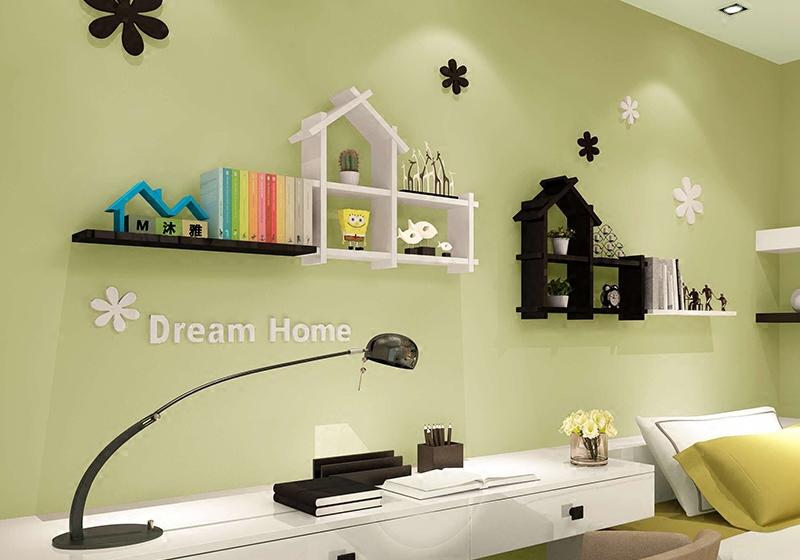 Wanddecoratie woonkamer plank for Wanddecoratie woonkamer